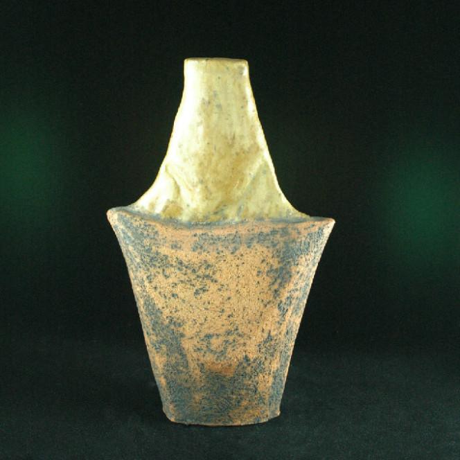 To Hans, 2004, stoneware, 13 x 8 x 3 in.