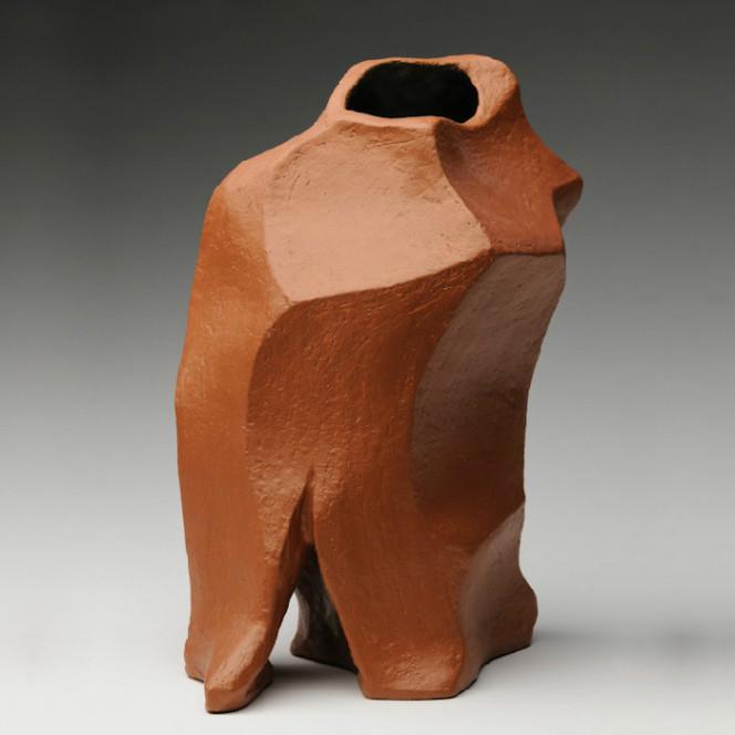 Pavane I, 2007, stoneware, 15 x 11 x 8 in.