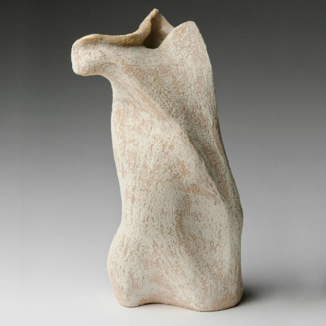 Terpischore, 2011, stoneware, 14 x 6 x 6 in.