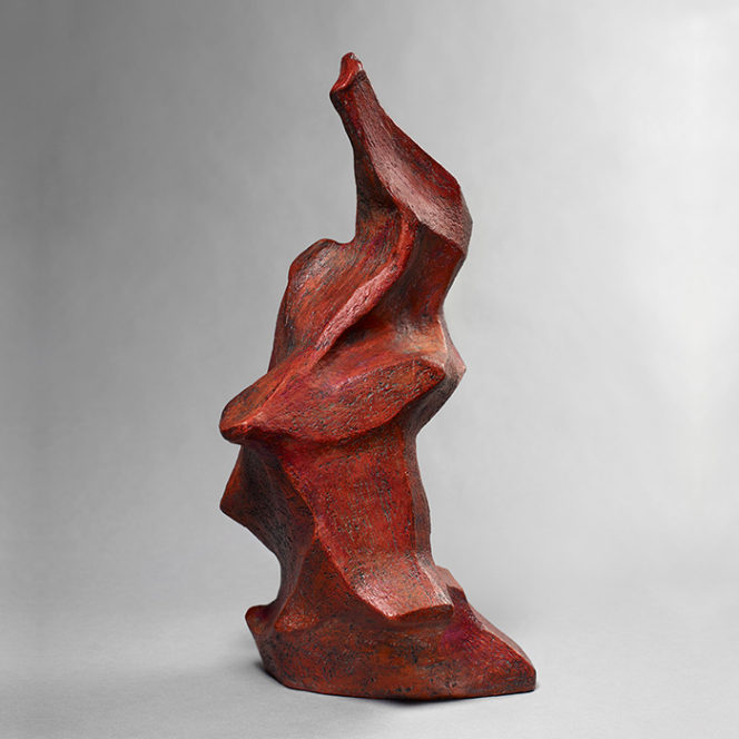 Red 4, stoneware